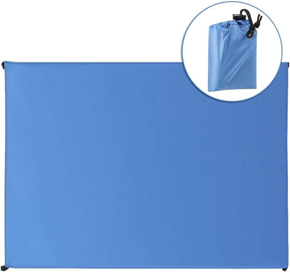 Lepeuxi Telo Impermeabile Impermeabile per Esterno Tascabile