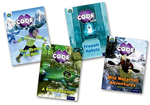 Project X CODE Extra: Orange Book Band, Oxford Level 6: Fiendish Falls and Big Freeze, Mixed Pack of 4 pdf