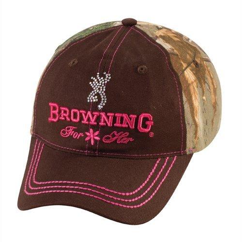 Browning Jeweled Cap, Camo Brown/Realtree Xtra