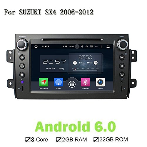 2 Din OS Android 6.0 Eight Core Car CD DVD Player GPS: Amazon.co.uk: Electronics