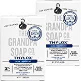 Best Acne Soaps - Grandpa's Thylox Acne Treatment Soap 3.25 Ounces Review