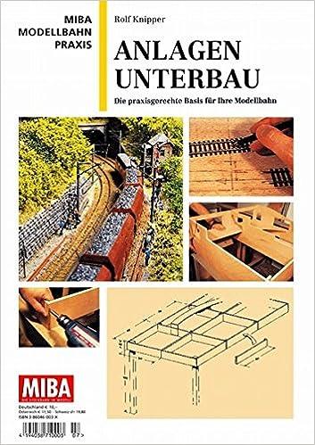 Anlagen-Unterbau MIBA Modellbahn Praxis