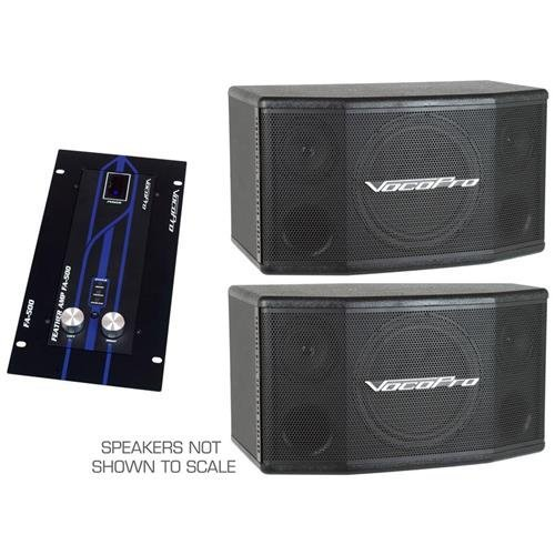 VocoPro Amplifier with Speaker Package, 25.00 x 25.00 x 25.00 (EVENTMANBASIC)