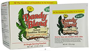 Dandy Blend - Instant Dandelion Beverage Single Servings