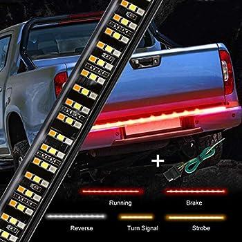 """Amazon.com: OPT7 48"""" Redline LED Tailgate Light Bar"""