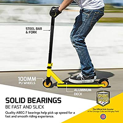 Swagtron Stunt/Freestyle Scooter for Beginners/Amateurs BMX & Advanced Riders – Kids or Adults – Durable Custom Pro Scooter Supports up to 260 lbs from Swagtron