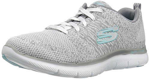 Blanco Energy Grey Flex 0 Skechers Zapatillas 2 para High White Mujer Appeal XwTnxzCqB
