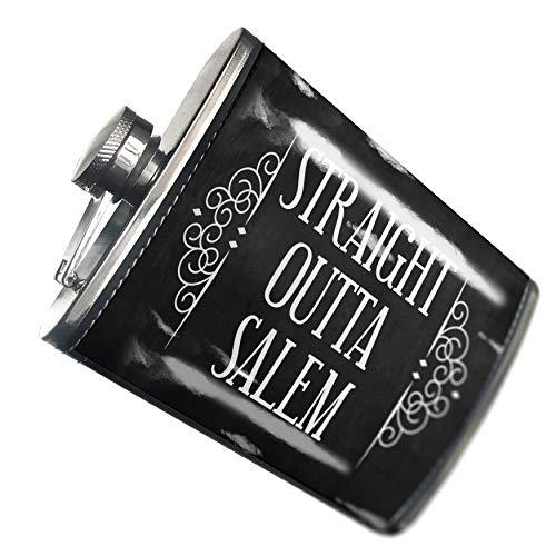 NEONBLOND Flask Straight Outta Salem Halloween Haunting Flourish