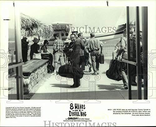 Vintage Photos 1997 Press Photo Actor Joe Pesci in Scene from 8 Heads in a Duffel Bag (Best Joe Pesci Scenes)