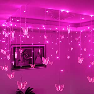 butterfly lights for bedroom ayangyang pink color butterfly shape led 14677
