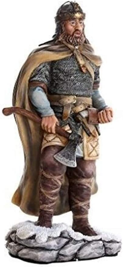 8.25 Inch Viking Warrior Holding Axe Figurine Norse Collection