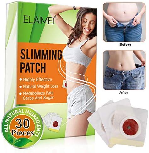 Slimming Sticker, Weight Loss Sticker, Slimming Tightening Sticker for Shaping Waist, Abdomen and Buttocks.(30Pcs) 3