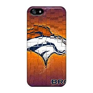 Iphone 5/5s Ukn11532JCeH Provide Private Custom Realistic Denver Broncos Pattern Bumper Phone Case -LauraAdamicska