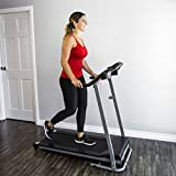 #9: Best Choice Products 800W Portable Folding Electric Motorized Treadmill Machine W/ Rolling Wheels