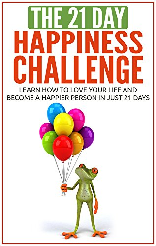 Happiness Challenge positive thinking Challenges ebook product image