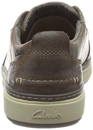 Clarks Lorsen Vibe, Herren Sneakers Grau (Grey Nubuck)