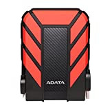 ADATA AHD710P-1TU31-CRD Pro 1TB USB 3.1 IP68 Waterproof/Shockproof/Dustproof Ruggedized External Hard Drive, Red