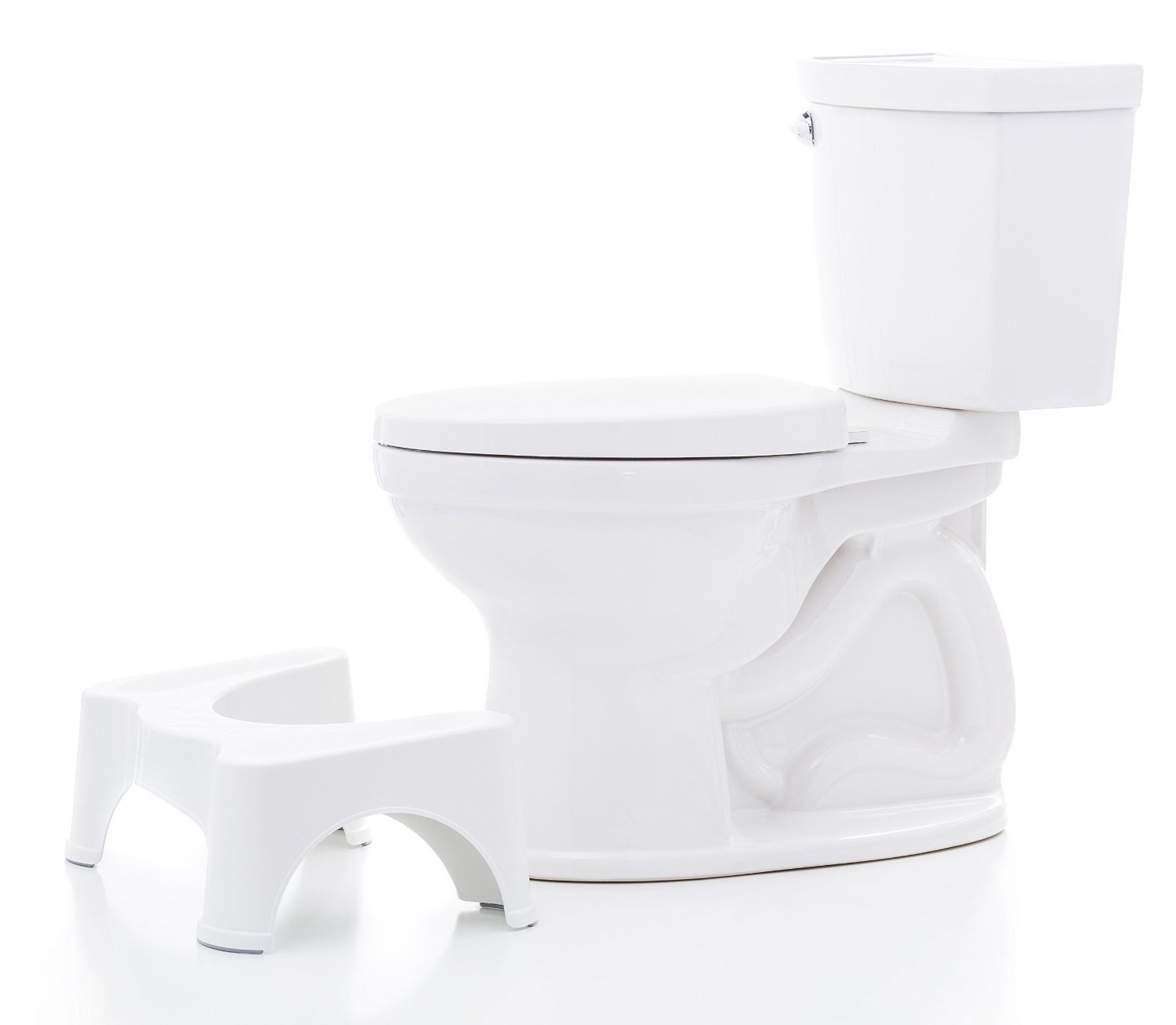 Squatty Potty The Original Bathroom Toilet Stool White 7