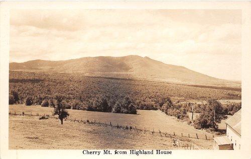 Cherry Mountain, New Hampshire Postcard Real Photo ()