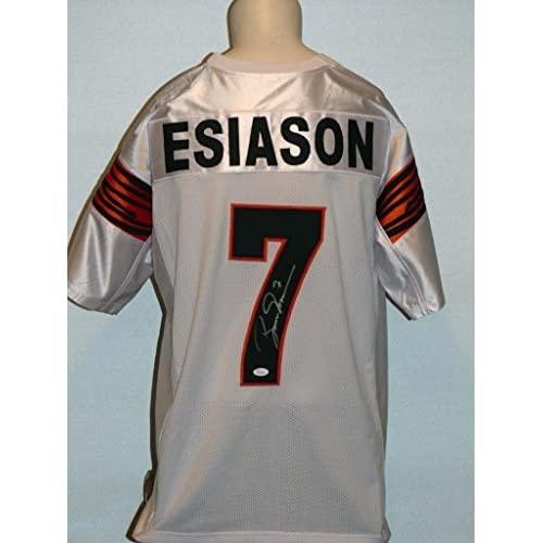 new concept 5b608 3bf09 free shipping Boomer Esiason Autographed Jersey - Custom ...