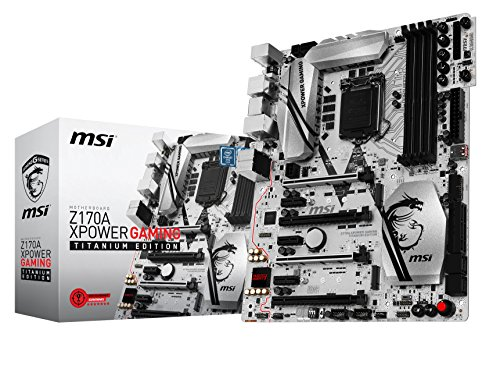 Raid Atx Motherboard (MSI Computer 7968-001R MSI Enthuastic Gaming Intel Z170A LGA 1151 DDR4 USB 3.1 ATX Motherboard (Z170A XPower Gaming Titanium Edition))