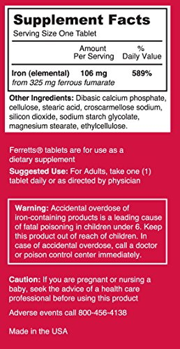 Pharmics Iron Supplement, Potency 60 tablets