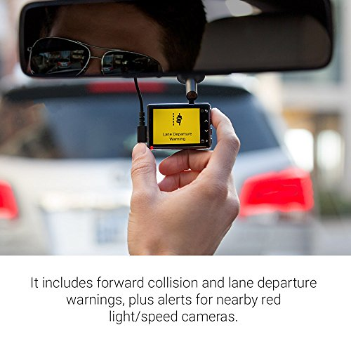 "Red Light Camera Check: Garmin Dash Cam 55, 1440p 2.0"" LCD Screen, Extremely Small"