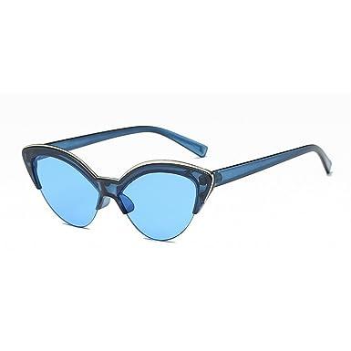MINCL Damen Sonnenbrille, blau