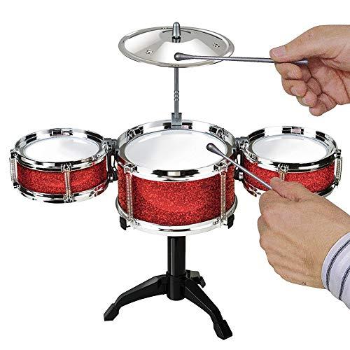 Srenta Kids Desktop Drum Set | Junior Beginner Jazz Drum Kit | Rock Musical Instrument Toddlers Toy