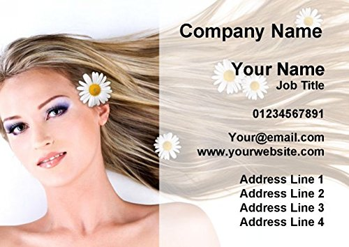 Salon Hair Beauty Spa Massage Nails Personalized Business Cards