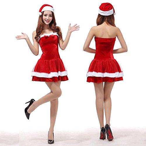 3161b62dc6488 サンタ コスプレ セクシー 衣裳 レディース ケープ コスチューム ポンチョ サンタコス サンタコスプレ フリル スカート サンタクロース クリスマス  サンタ