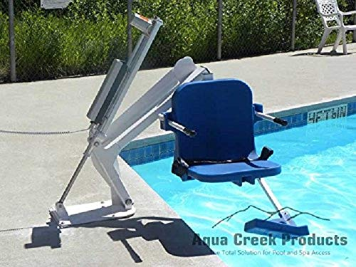 Ranger Pool Lift - Right Handed - w/4 point Concrete Mounting Kit