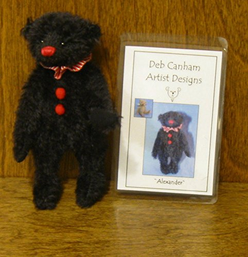 Deb Canham Artist Designs, ALEXANDER, Limited Edition Mohair from 2008 Companion Bears