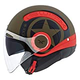 Nexx SX.10 Switx Hero Motorcycle Cruiser Helmet (L)