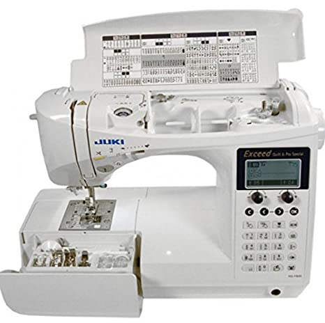 JUKI 0189684000190 - Máquina de Coser hzl-f600 Quilt & Pro Special: Amazon.es: Hogar