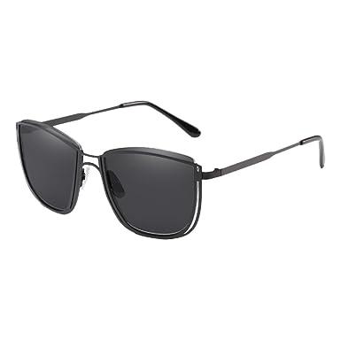 Zhhlaixing Retro Design Femmes et Hommes Sunglasses Lunettes de Soleil Matériel de Qualité en Métal Avec étui à Lunettes nxxs3