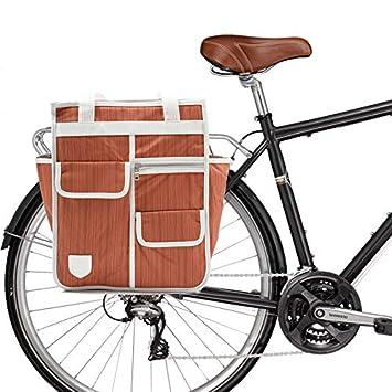 dd997cc43ea Goodordering 3 in 1 Market Shopper Bicycle Pannier for Cycling (Orange)