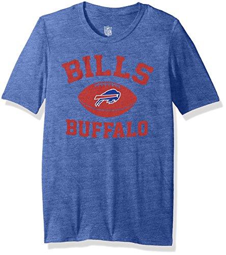 Outerstuff NFL Youth Boys Standard Issue Short Sleeve Tee-Royal-M(10-12), Buffalo Bills