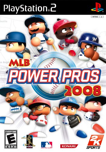 PS2 MLB Power Pros 2008 (Best Price Ps2 Console)
