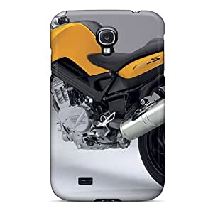 Protective Tpu Case With Fashion Design For Galaxy S4 (bmw F800s)