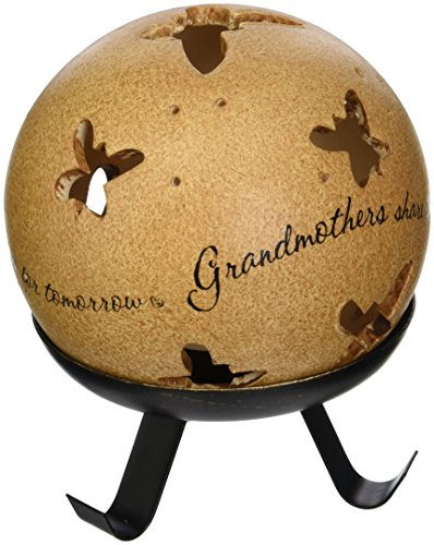 Grandmother Quote Tea Light Candle Holder and Stand
