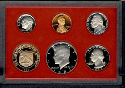 Galleon - 1979 S US MINT TYPE II PROOF COIN SET TY 2