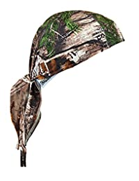 Chill-Its 6615 Absorptive Moisture-Wicking Dew Rag, RealTree Camo