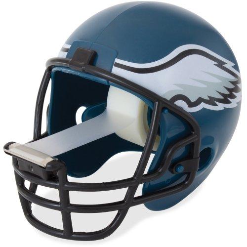 Scotch Magic Tape Dispenser, Philadelphia Eagles Football Helmet - Holds Total 1 Tape(s) - Refillable - Teal