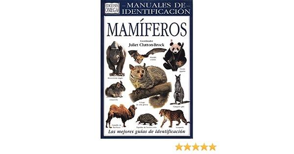 MAMIFEROS. MANUAL DE IDENTIFICACION GUIAS DEL NATURALISTA ...