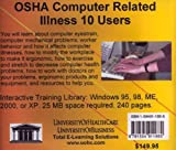 OSHA Computer Related Illness, 10 Users, Farb, Daniel and Gordon, Bruce, 1594911886