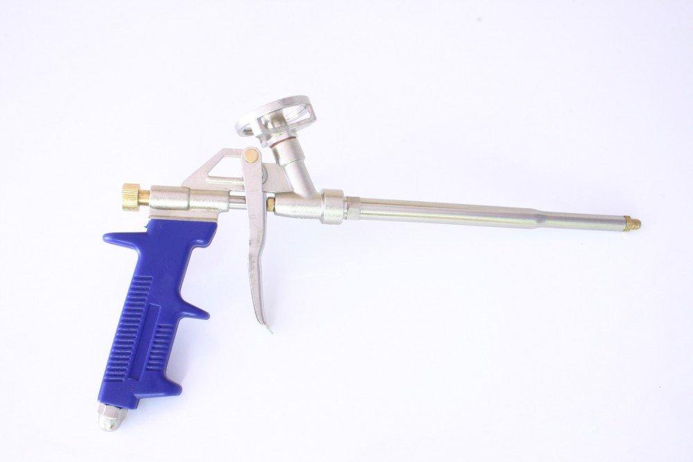 PU Schaumpistole aus Metall f. Pistolenschaum Bauschaum Veto