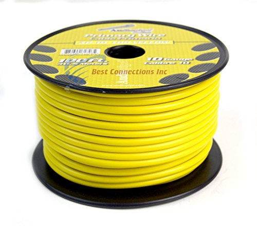 10 GA GAUGE 100 FT SPOOLS PRIMARY AUTO REMOTE POWER GROUND WIRE CABLE (3 ROLLS) by Audiopipe (Image #6)
