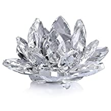 Neewer® 4inch/10cm Clear Crystal Lotus Flower With Gift Box for Wedding/Home/Office Decoration