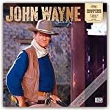 img - for John Wayne in the Movies 2019 12 x 12 Inch Monthly Square Wall Calendar with Foil Stamped Cover, USA American Actor Celebrity Country book / textbook / text book